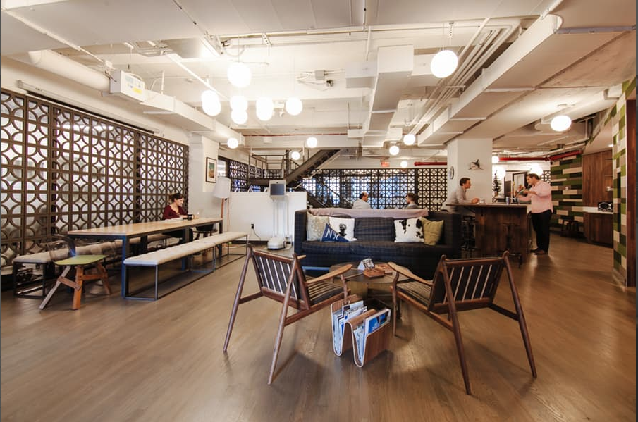 WeWork City Hall Common Space Photo